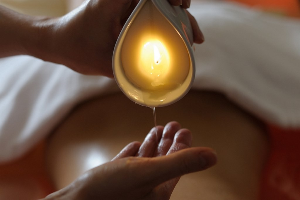 candle-massage